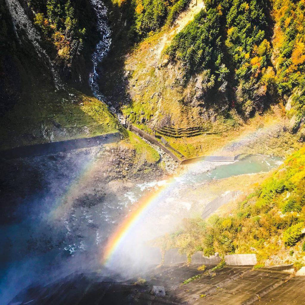 黒部アルペンルートと黒部峡谷鉄道2日間の旅1